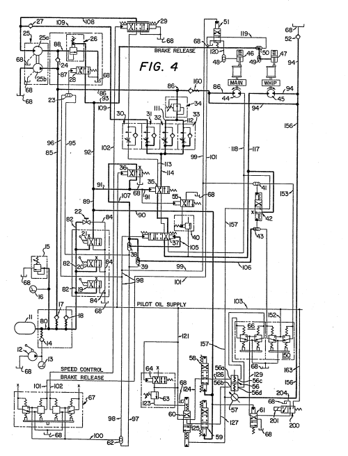 small resolution of mobile crane electrical diagram patent ep a emergency control hydraulic system