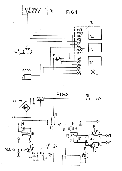 small resolution of  imgf0001 patent ep0121757a1 a method for processing useful signals in a comelit style 2 wiring diagram