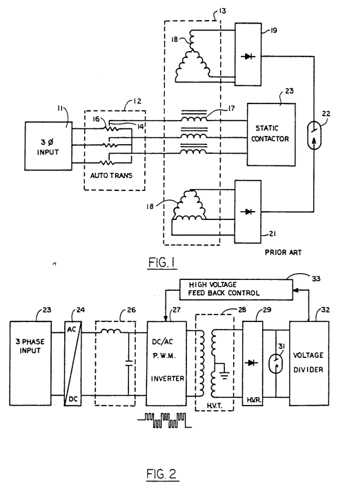 small resolution of patent ep0147722b2 a high voltage system for an x ray tube