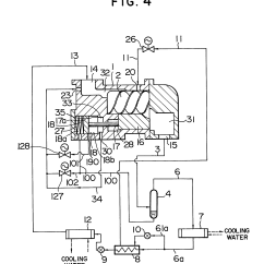 Flow Diagram Refrigeration Cycle Vw Passat Radio Wiring Patent Ep0203477a1 Refrigerant Gas Injection System For