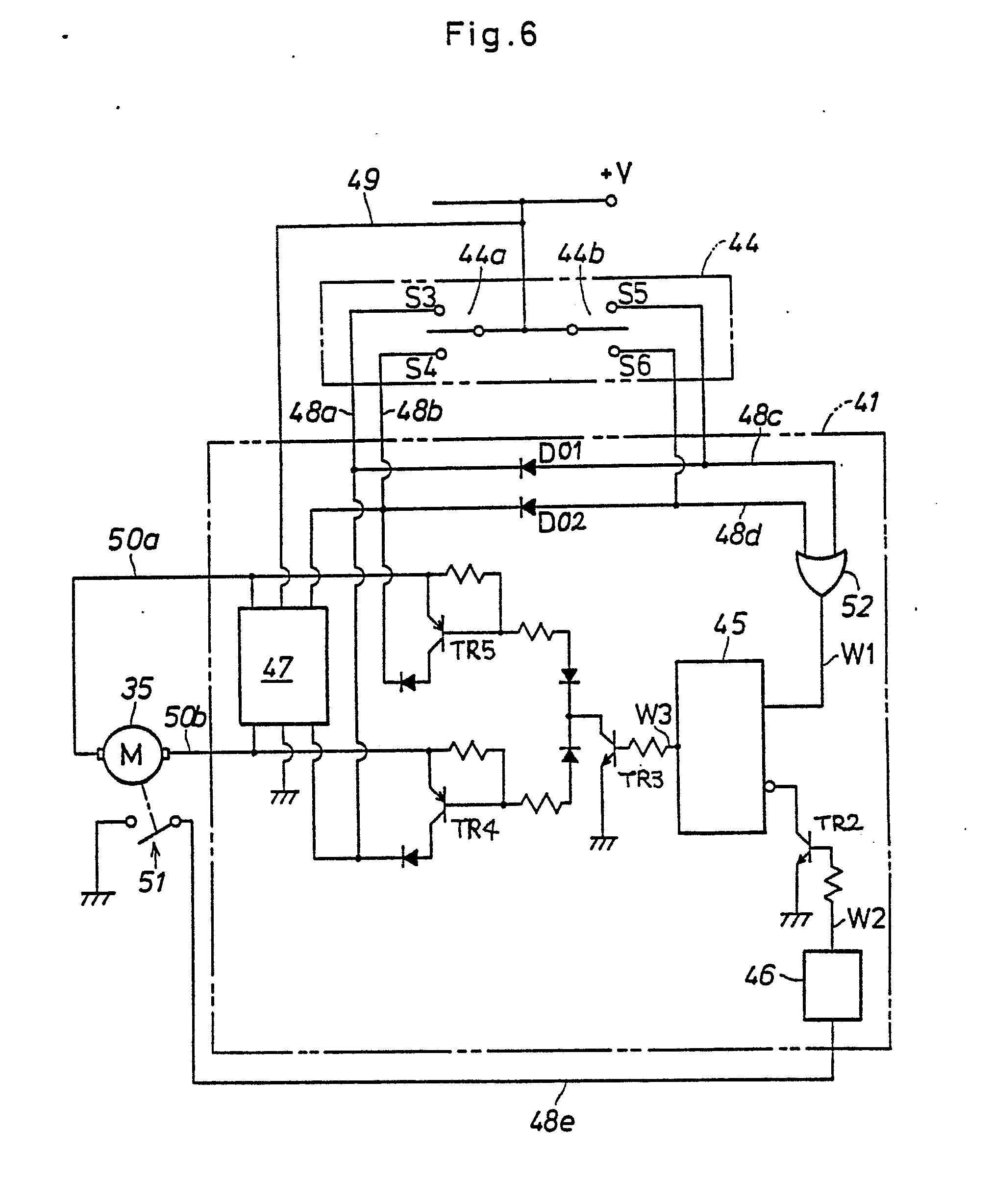 dr motor common connection diagrams