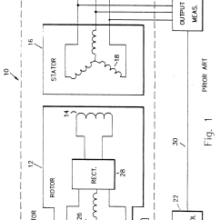 Diagram Simple Generator Ceiling Fan Wiring Two Switches Patent Ep0258760b1 Brushless Exciter Using