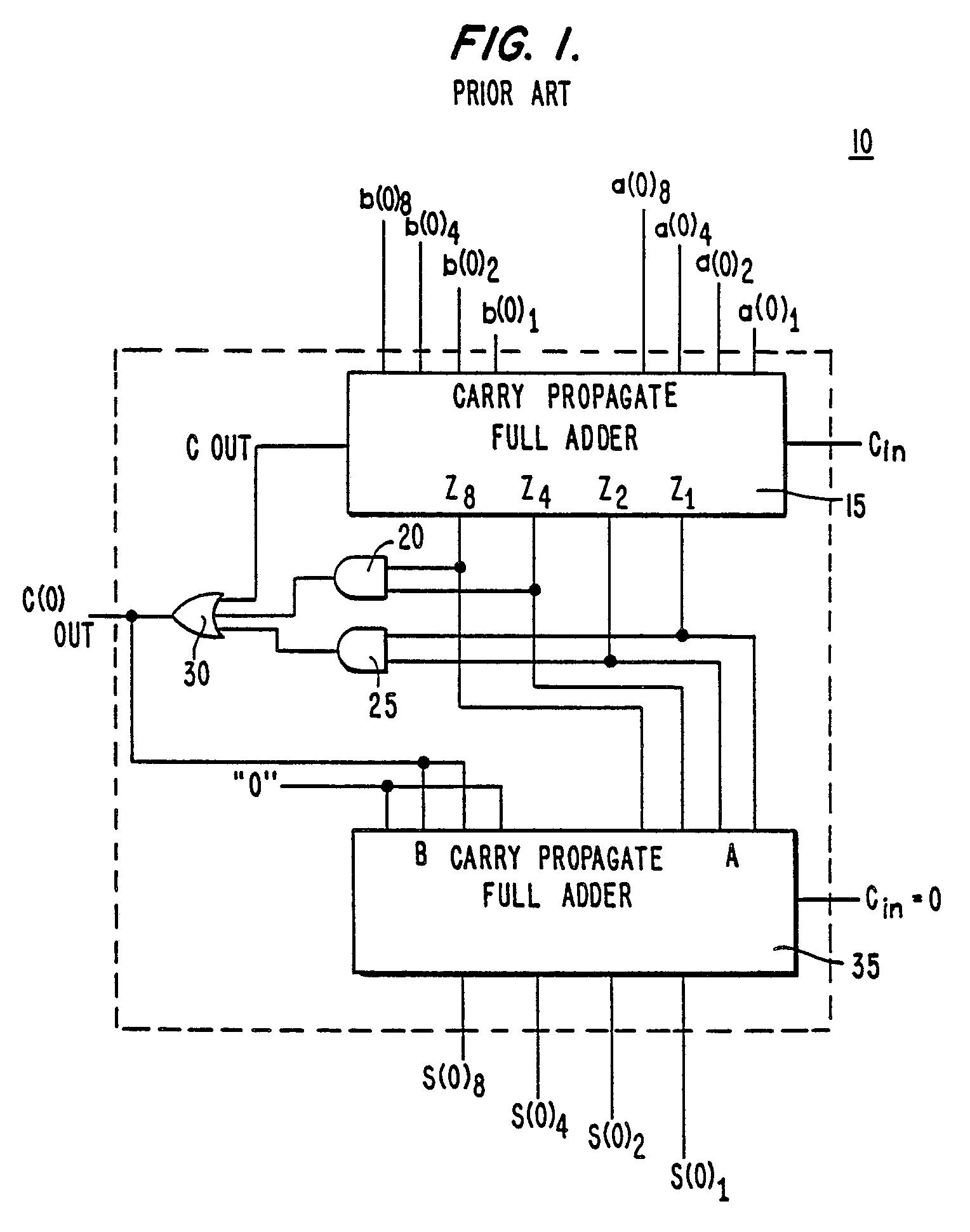 8 bit bcd adder circuit diagram