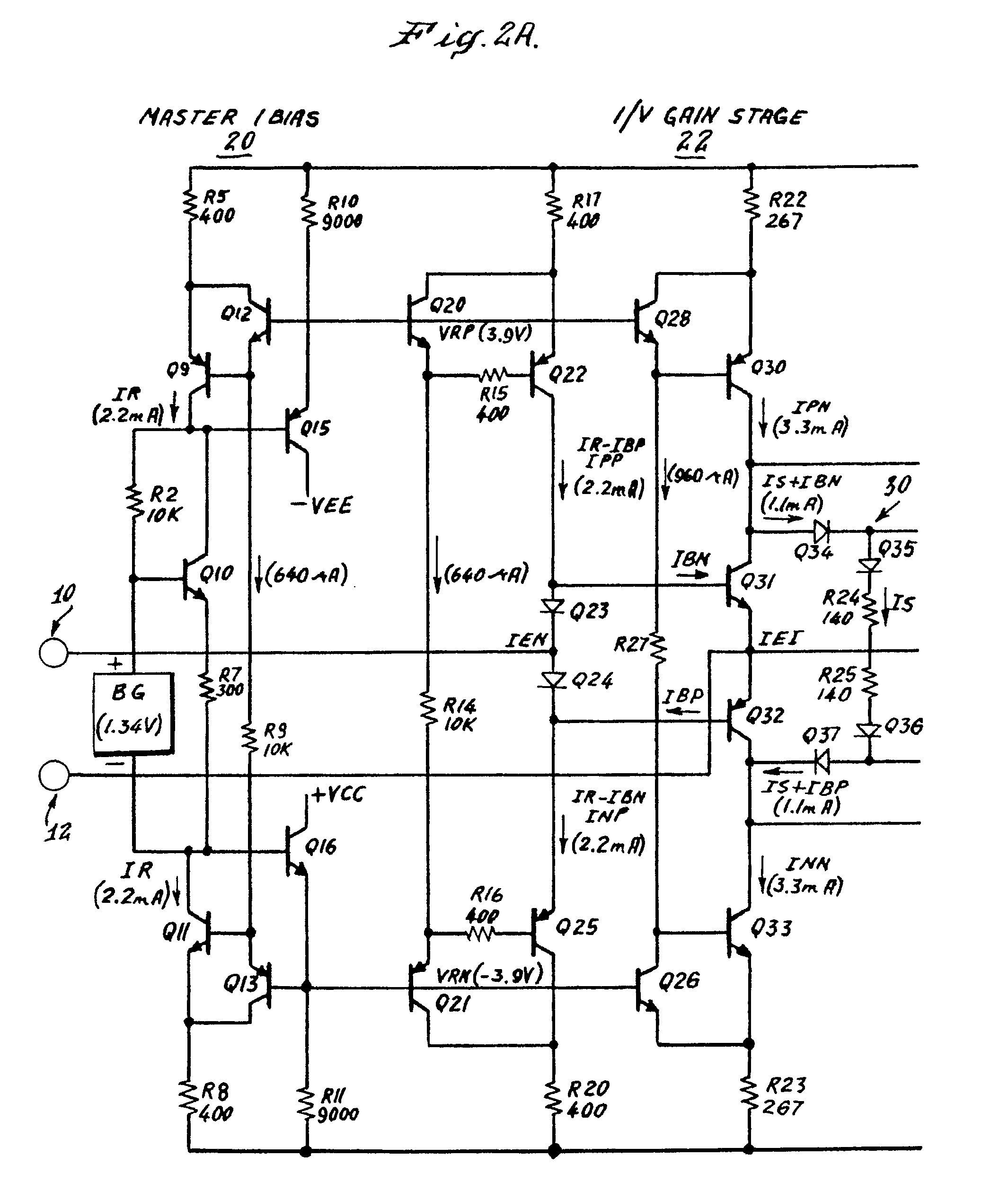 dc coupled transistor amplifier