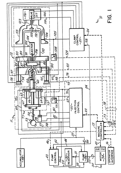 small resolution of patent ep0464286a2 injection moulding machine with hydraulic accumulator circuit diagram hydraulic accumulator problem