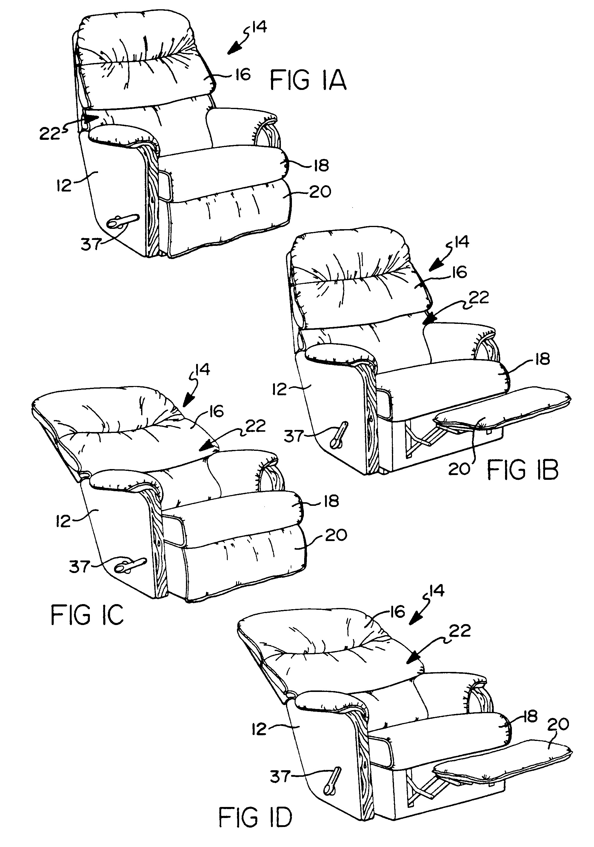 Lazy Boy Recliner Rest Diagram, Lazy, Free Engine Image