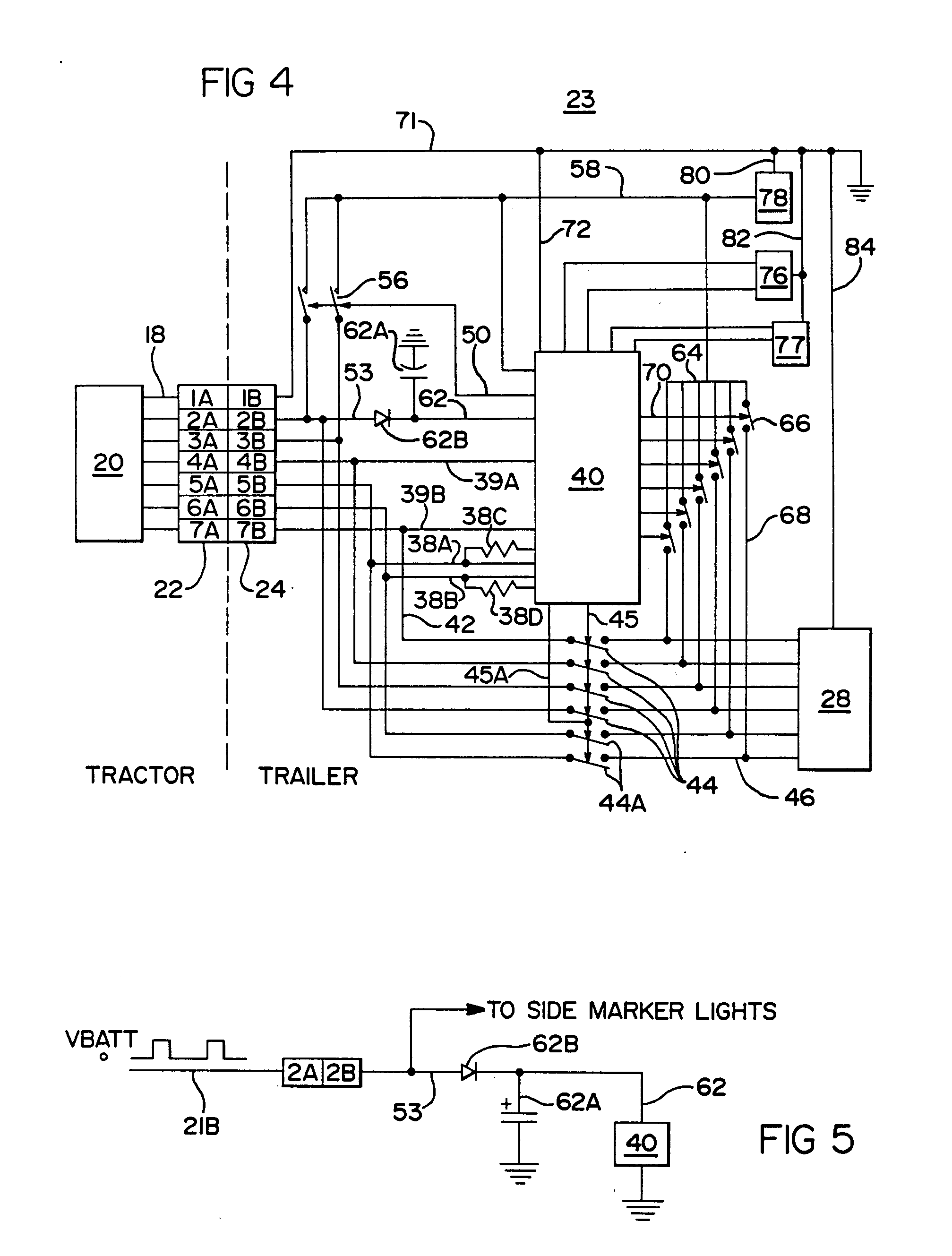 [DIAGRAM] Patent Us5397924 Truck Tractor And Trailer