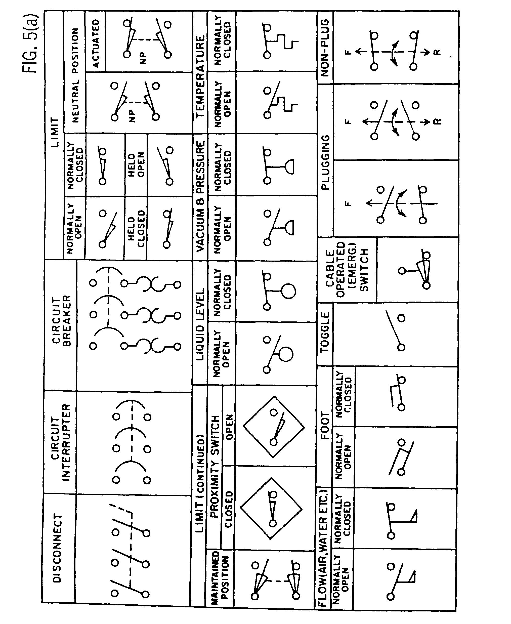 industrial wiring diagram symbols flat gun electrical schematic symbol chart get free