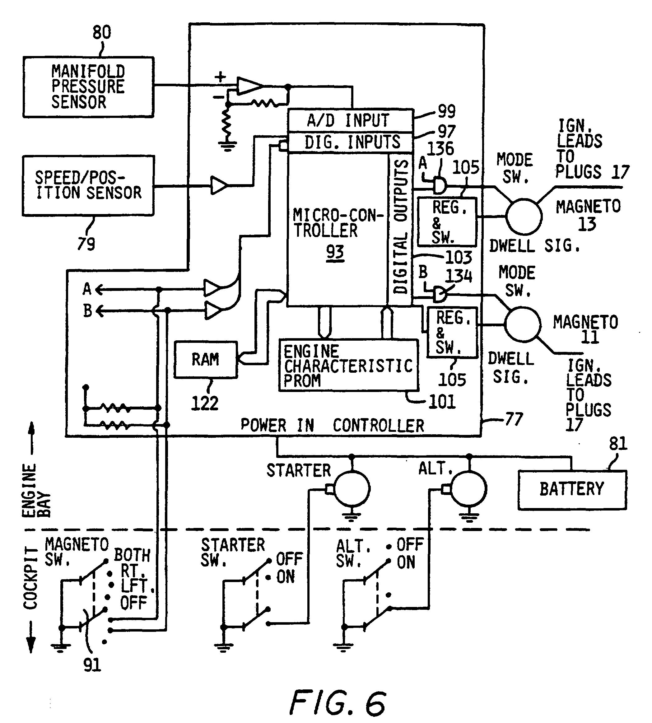 magneto wiring diagram 94 dodge dakota stereo aircraft mag o ignition system
