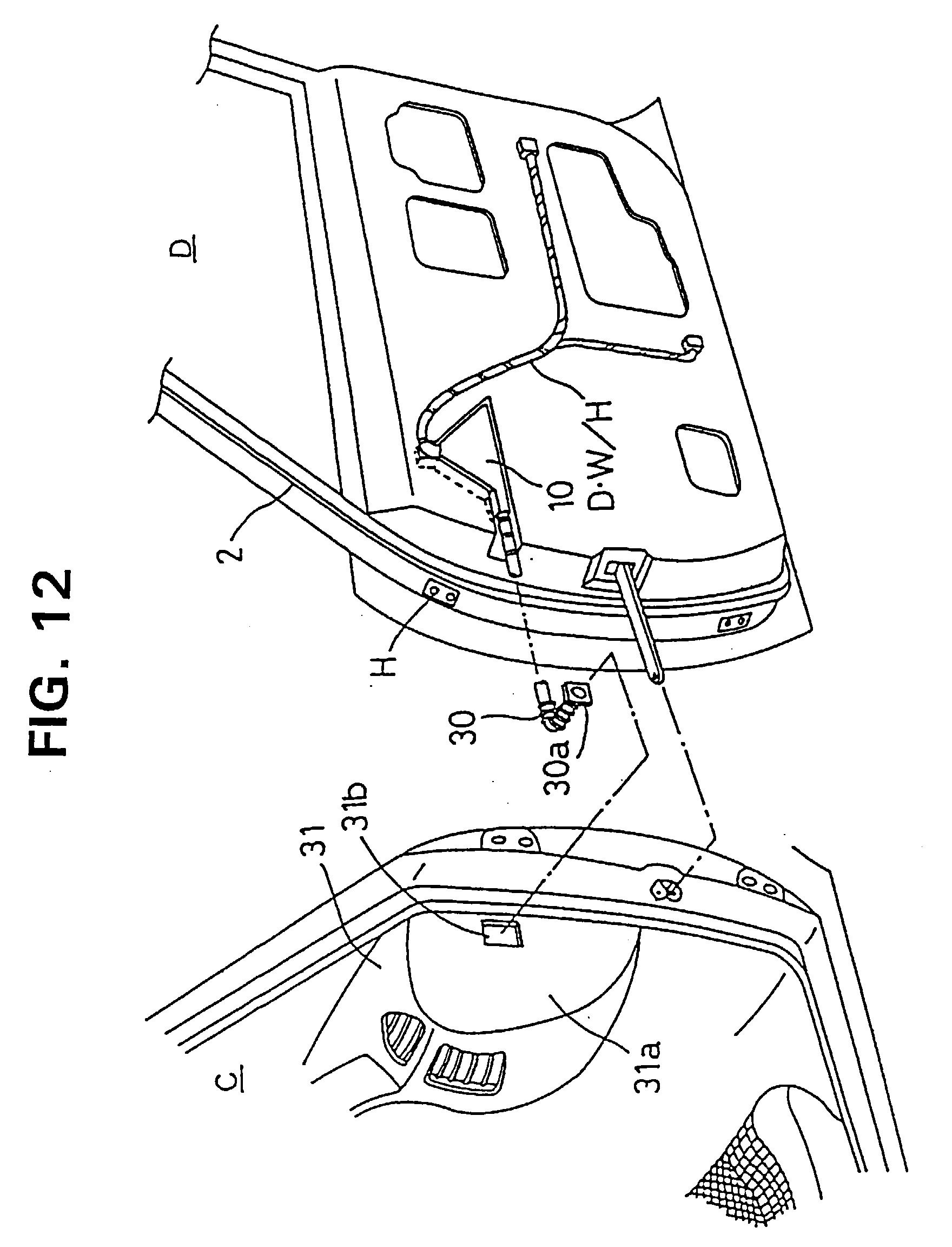 Patent ep0812733a2 a wiring harness arranging construction chevy wiring harness at roundabout wiring harness