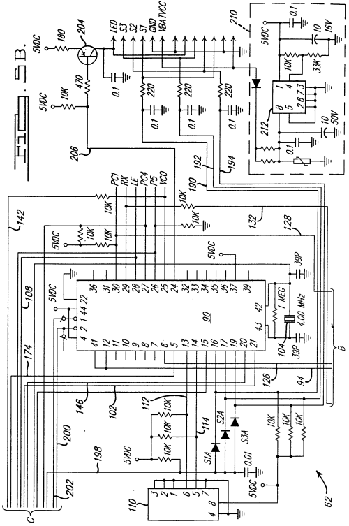 small resolution of  00350001 patent ep0875646a1 universal garage door opener google patents genie garage door opener wiring schematic at