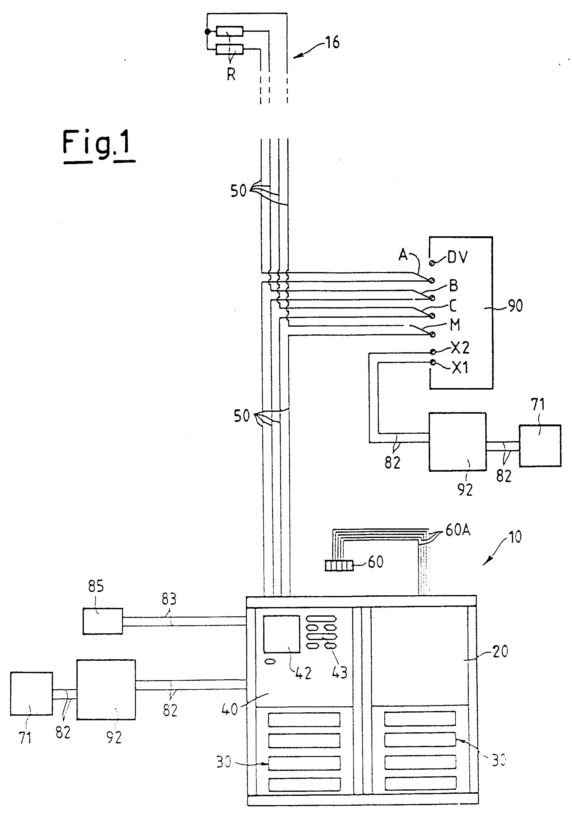 comelit wiring diagram data flow visio 2010 patent ep0876044a2 système de connection électrique pour
