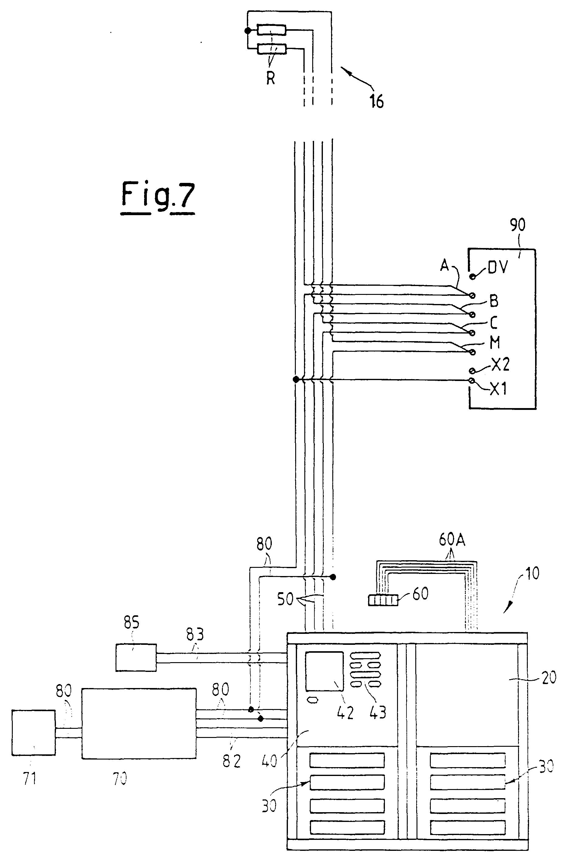 comelit wiring diagram 1998 jeep tj radio patent ep0876044a2 système de connection électrique pour