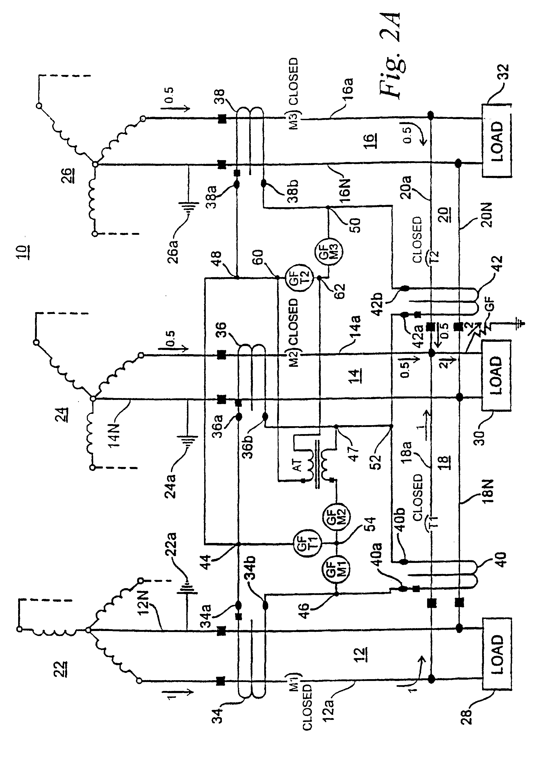 Ground Fault Breaker Schematic