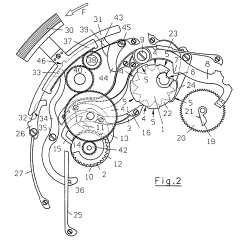 Pocket Watch Movement Diagram 2005 Gmc Radio Wiring Patent Ep1004947b1 Fast Correction Mechanism For