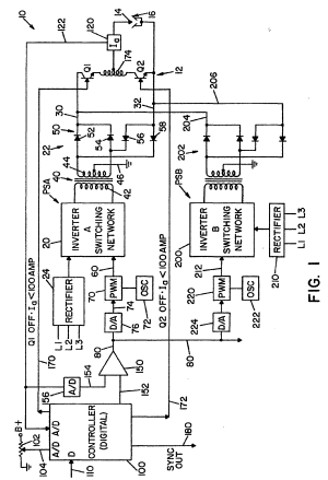Patent EP1086773B1  Electric arc welder with a plurality of power supplies  Google Patents