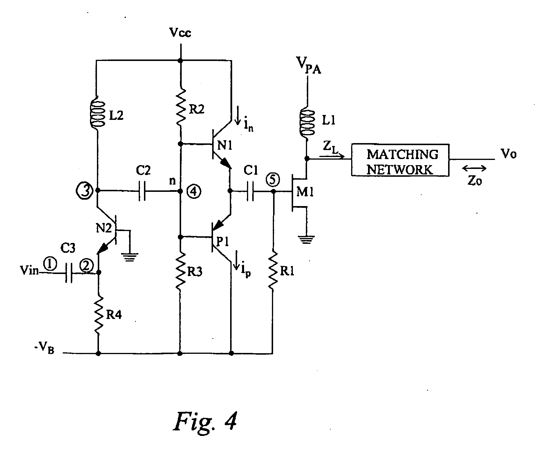 Circuit Amplifiercircuitsrf Amplifiercircuit Circuit Diagram