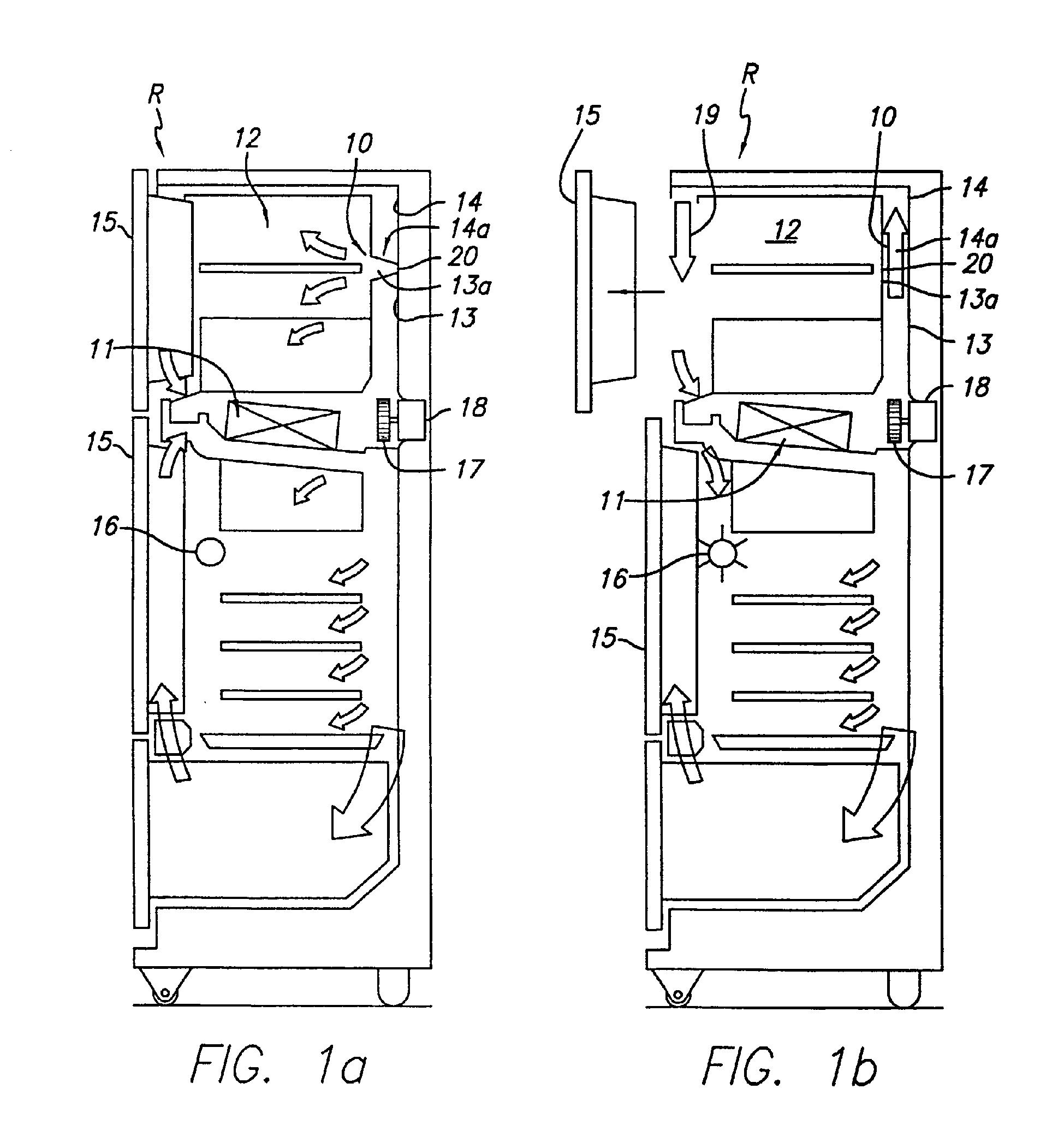 Damper Door Refrigerator & Refrigerator D&er Assembly