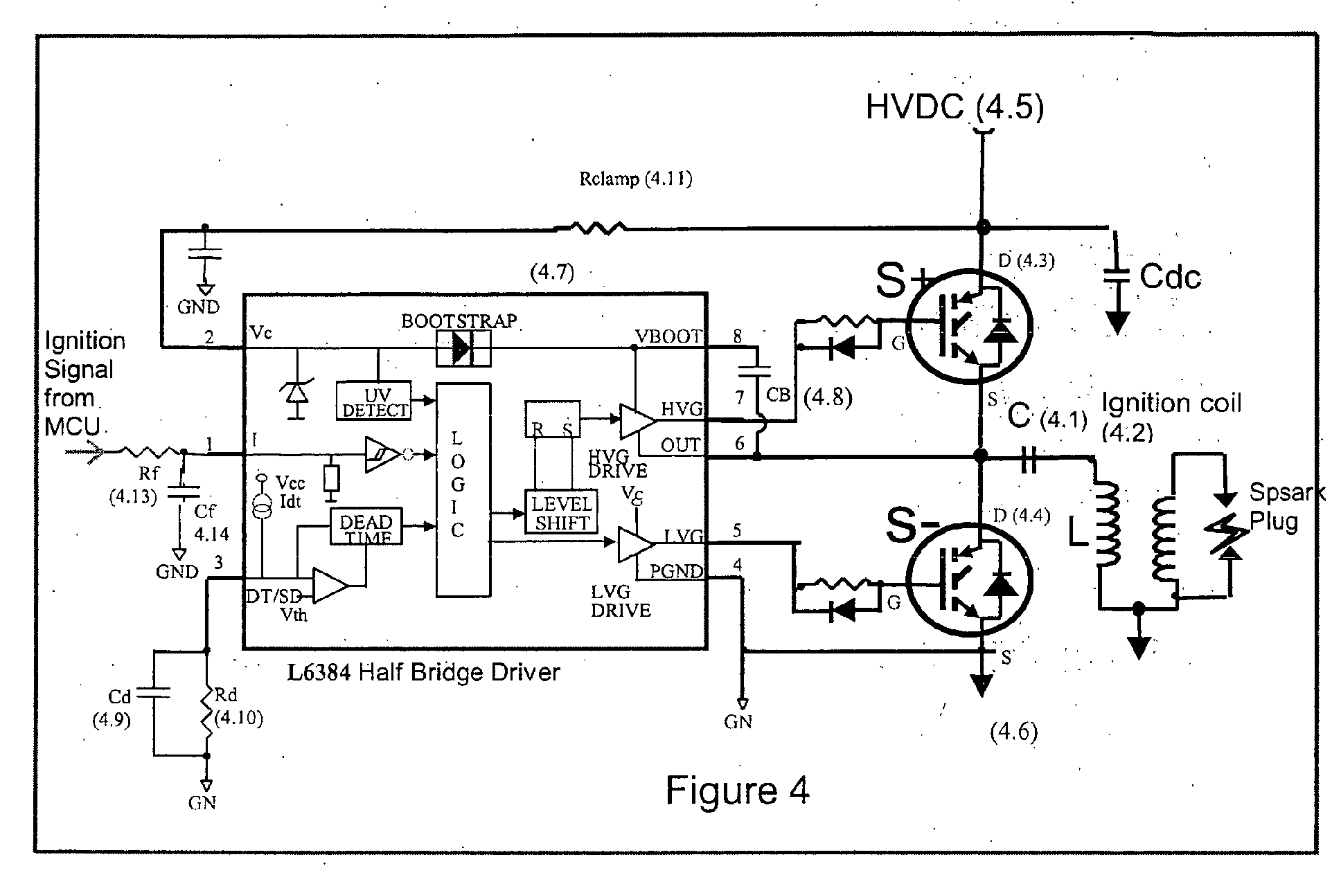 circuit for a capacitor discharge ignition system google patents