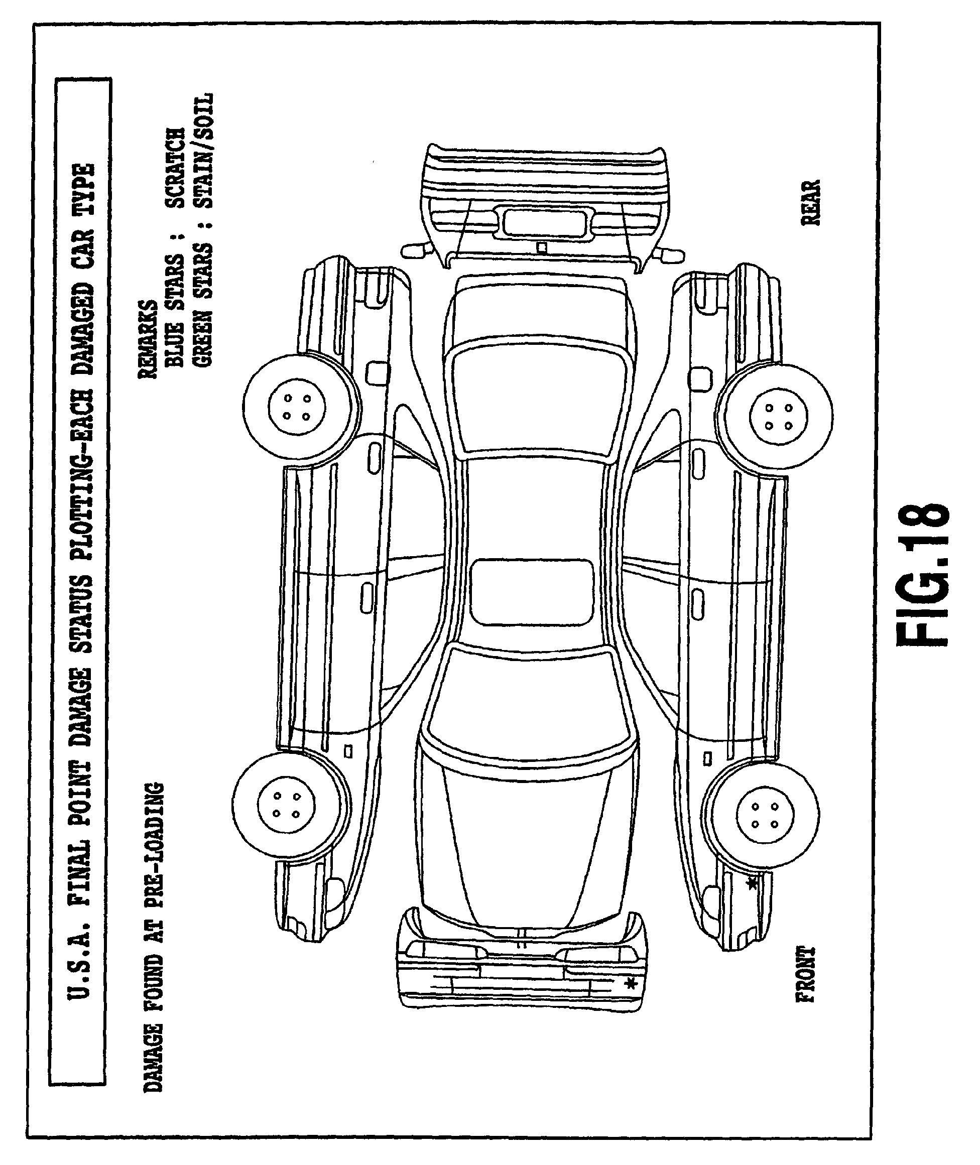 car damage inspection diagram 2001 toyota camry wiring vehicle suv imageresizertool com