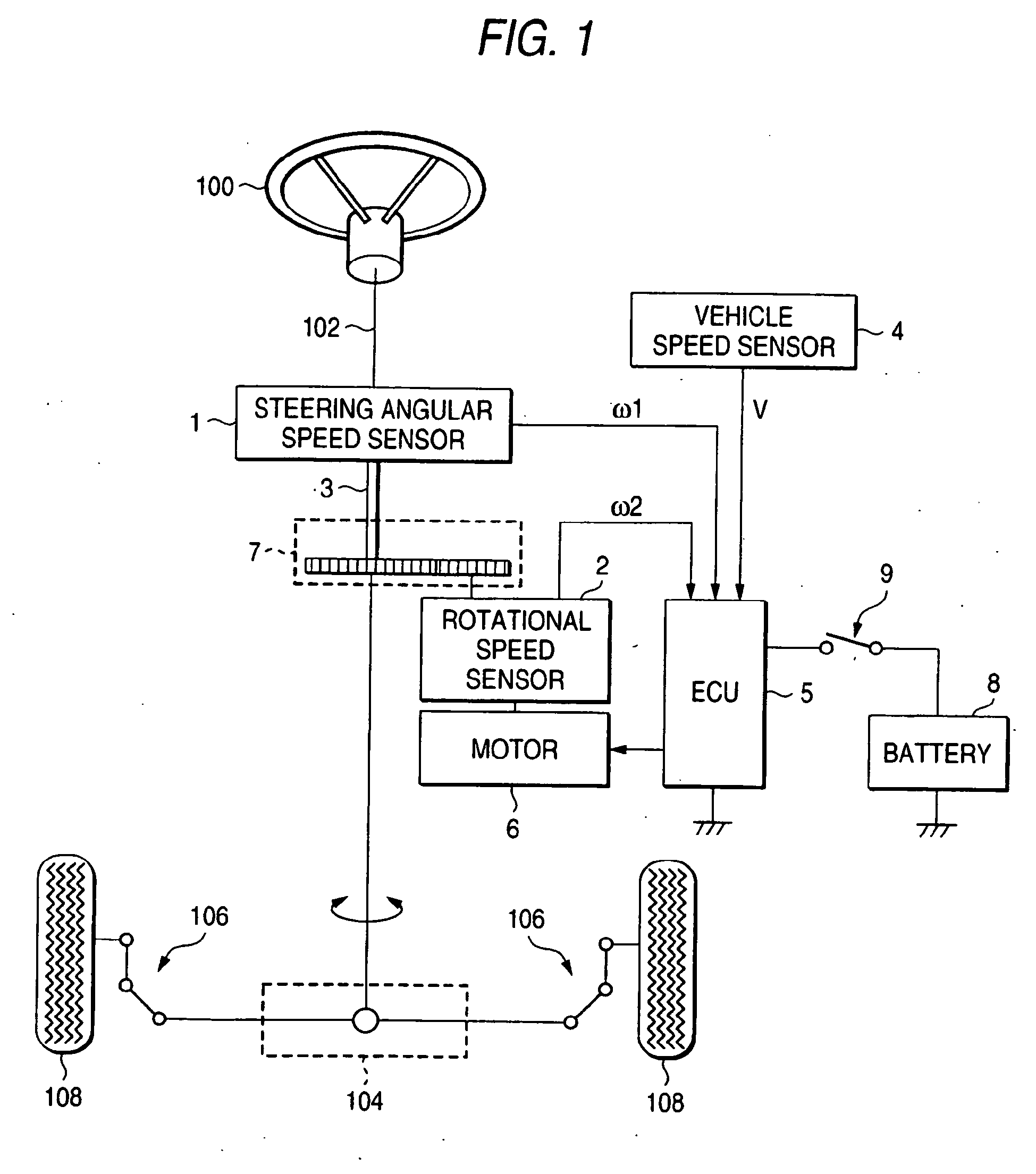 Patent EP1332944B1 Torque Detection In An Electric Power