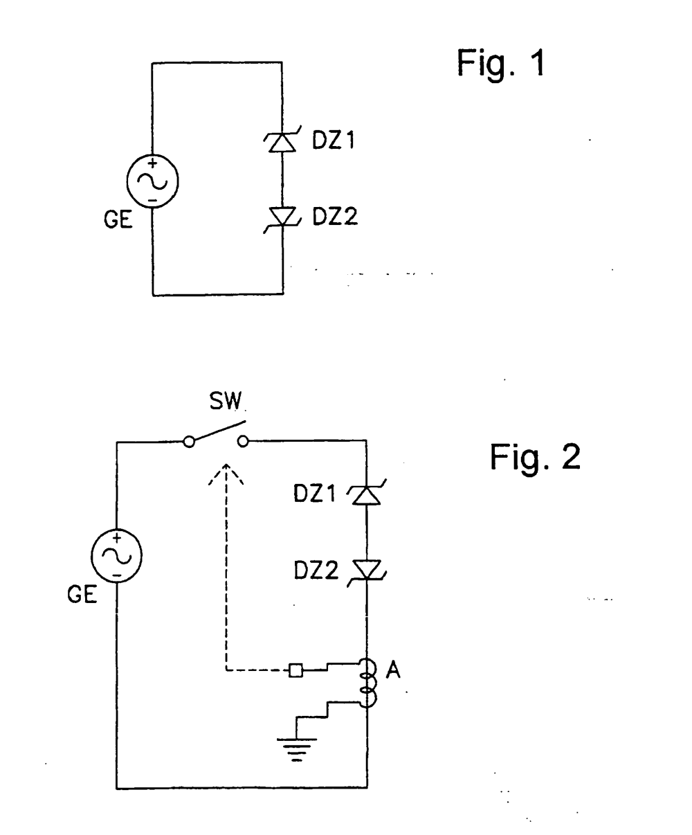 medium resolution of patent ep1335472b1 voltage clamping circuit for a bicycle dynamo