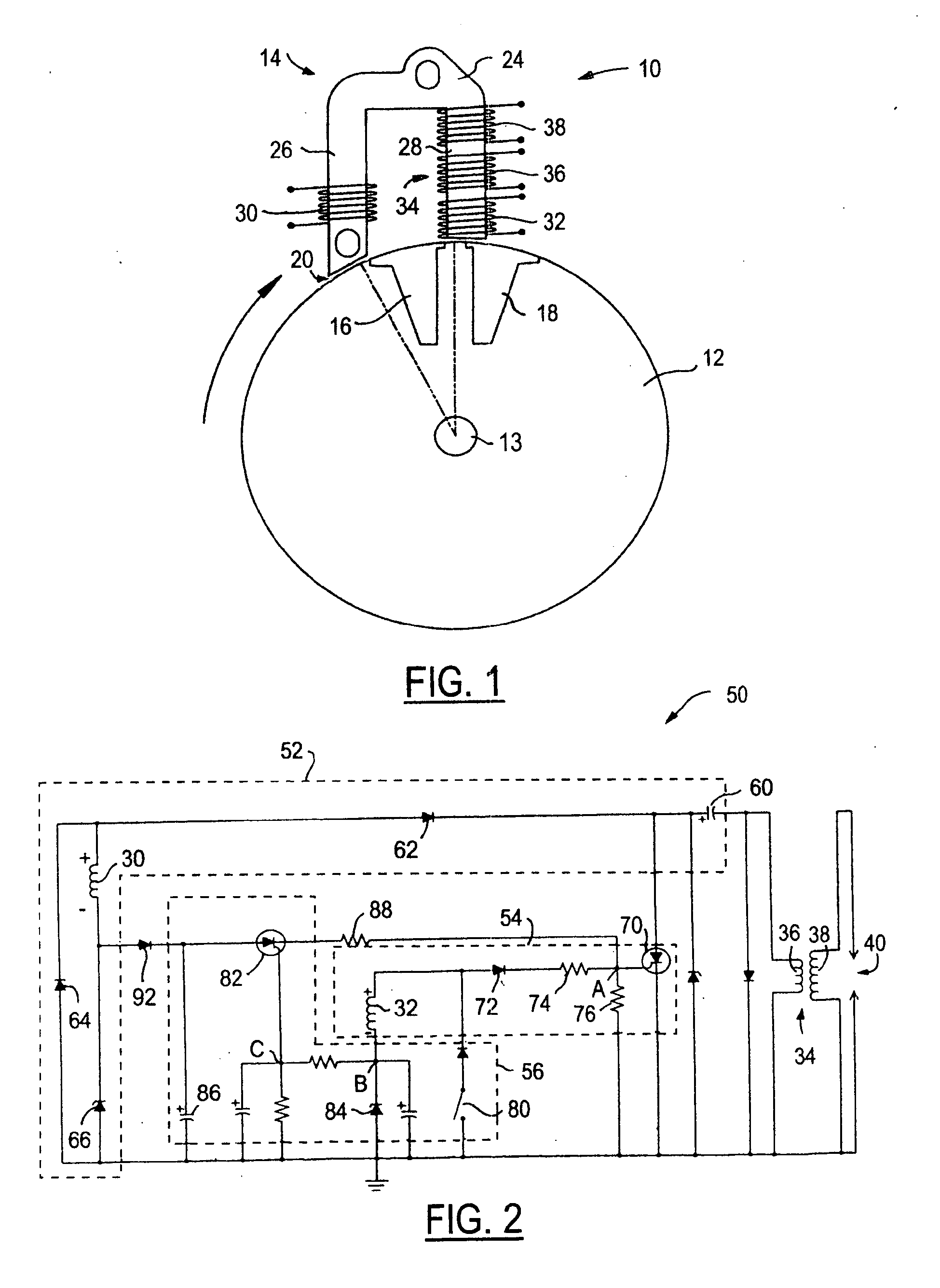 circuit for capacitor discharge ignition system google patents