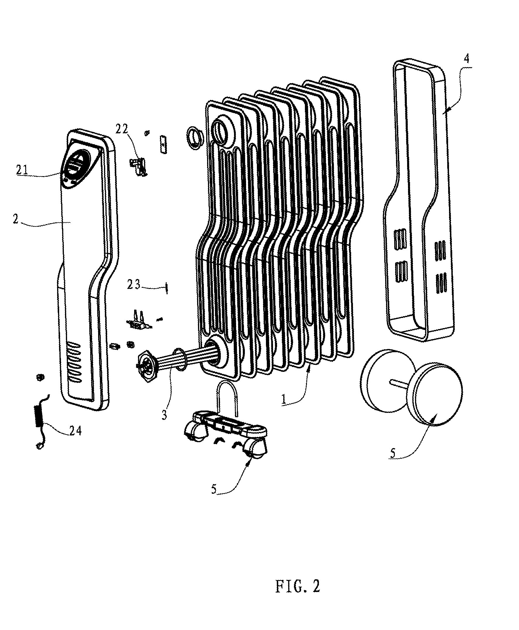 Electric Heater Diagram