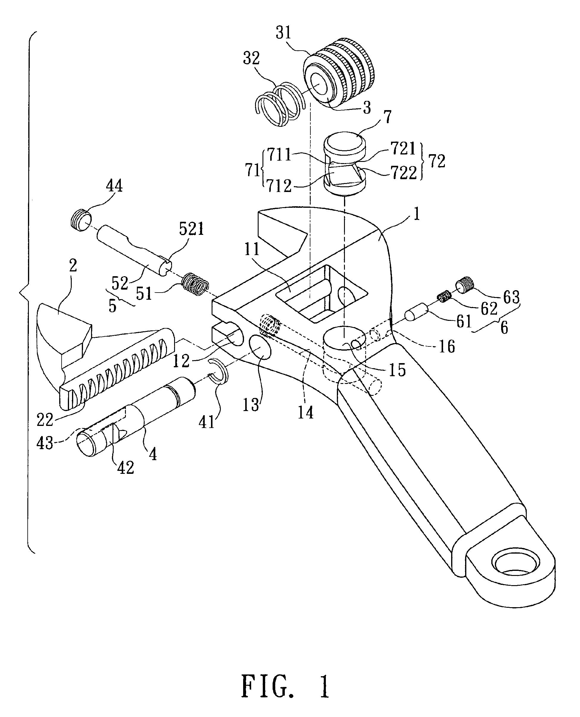 Adjustable Wrench June