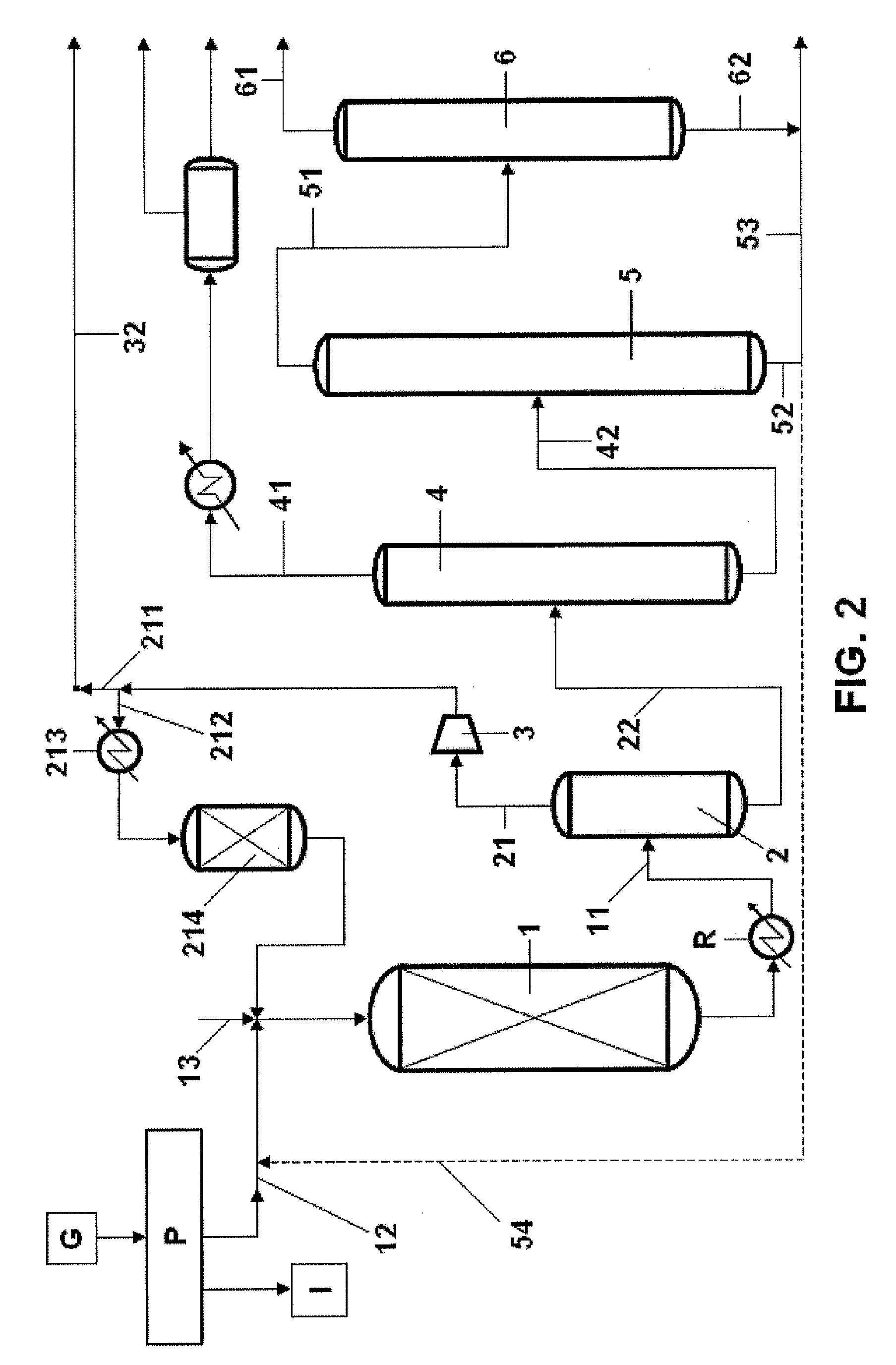 propylene phase diagram yamaha g9 wiring patent ep2540692a2 production of glycol from