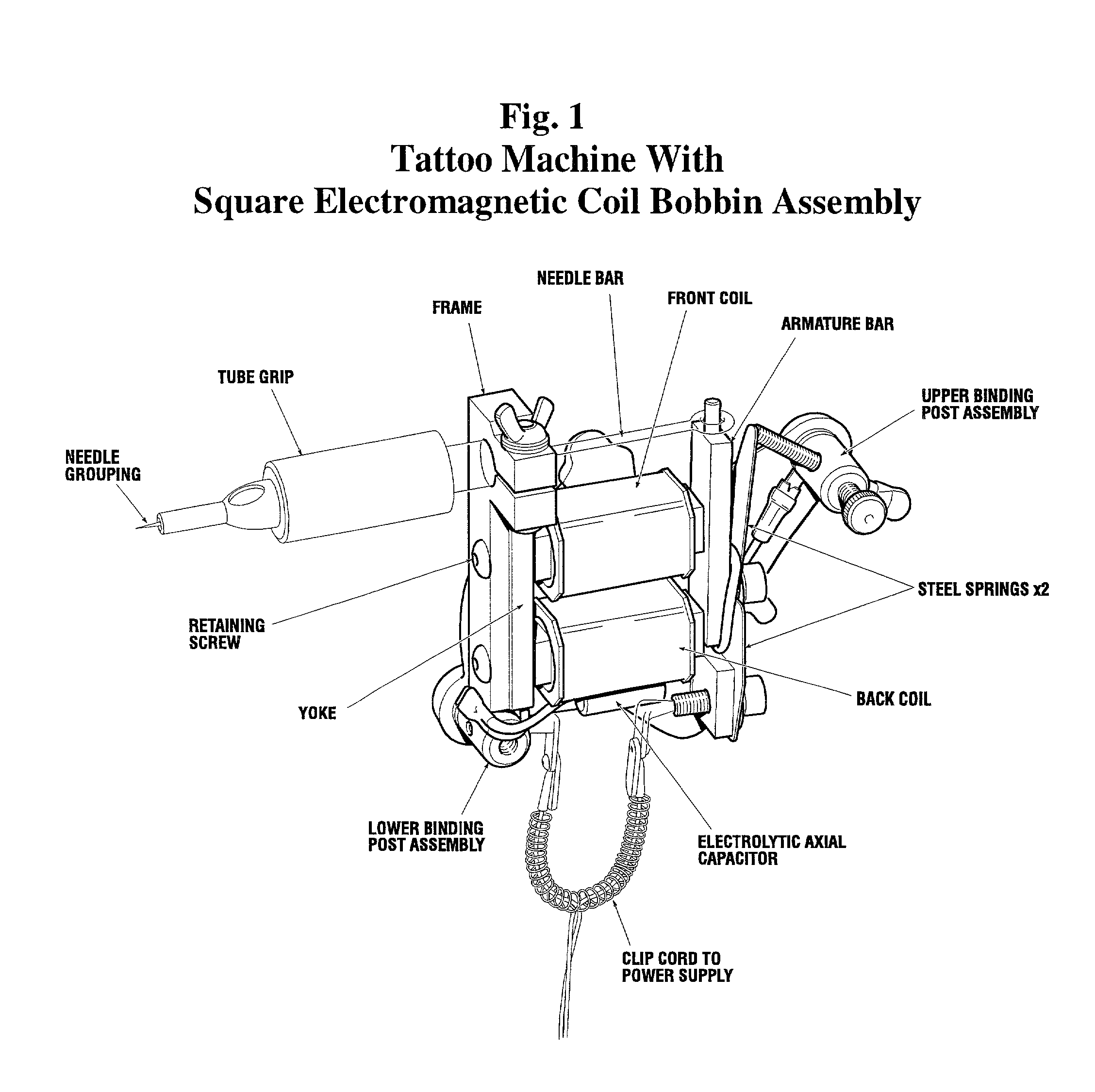 Patent us20020050884 square electromag ic coil bobbin assembly tattoo machine wiring diagram