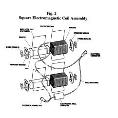 Tattoo Machine Wiring Diagram Ford F150 Ac Patent Us20020050884 Square Electromagnetic Coil Bobbin