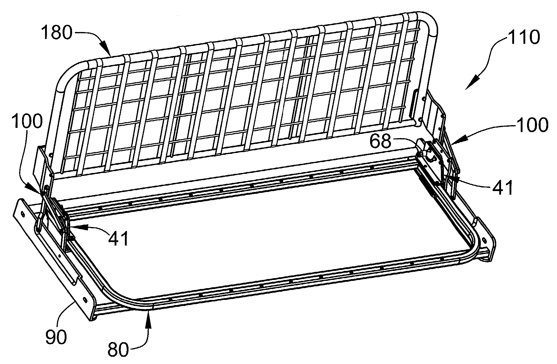 Jack Knife Sofa Bed Frame