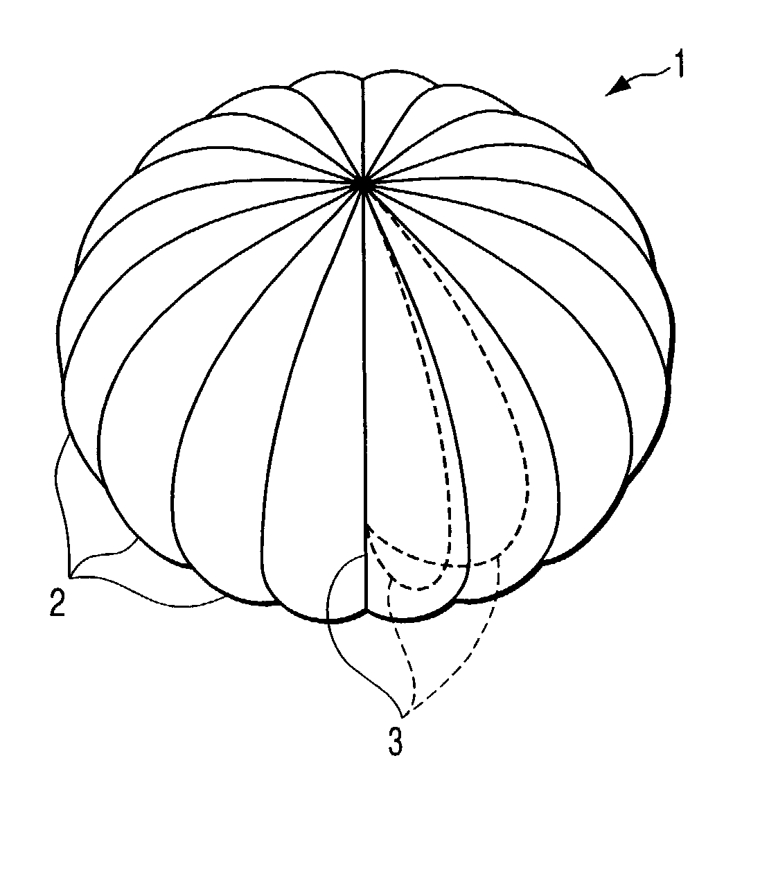 Parachute Coloring Pages