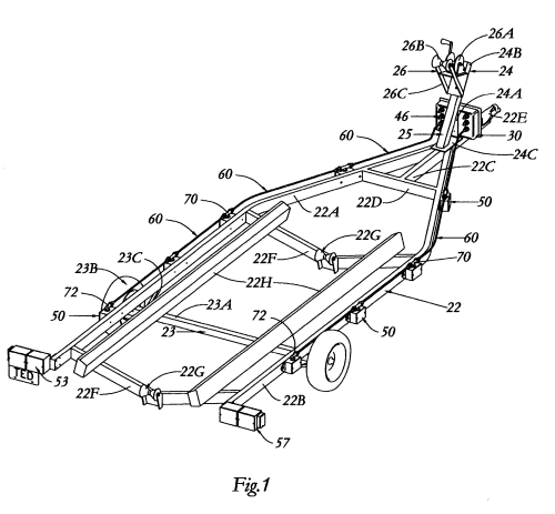 small resolution of boat trailer employing immersible fiber on wiring small trailer lights