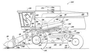Patent US20030216158  Harvester with control system