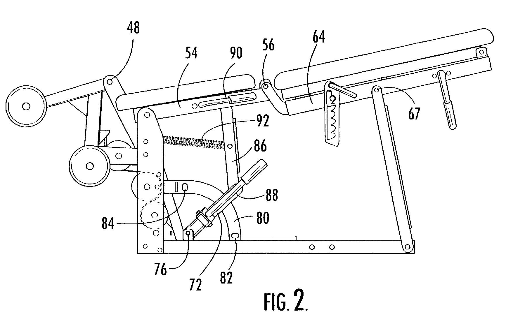 A Plane Seat Diagram