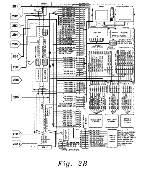 small resolution of us20040061446a1 20040401 d00003 patent us20040061446 universal fleet electrical system google federal signal ss2000 wiring diagram at
