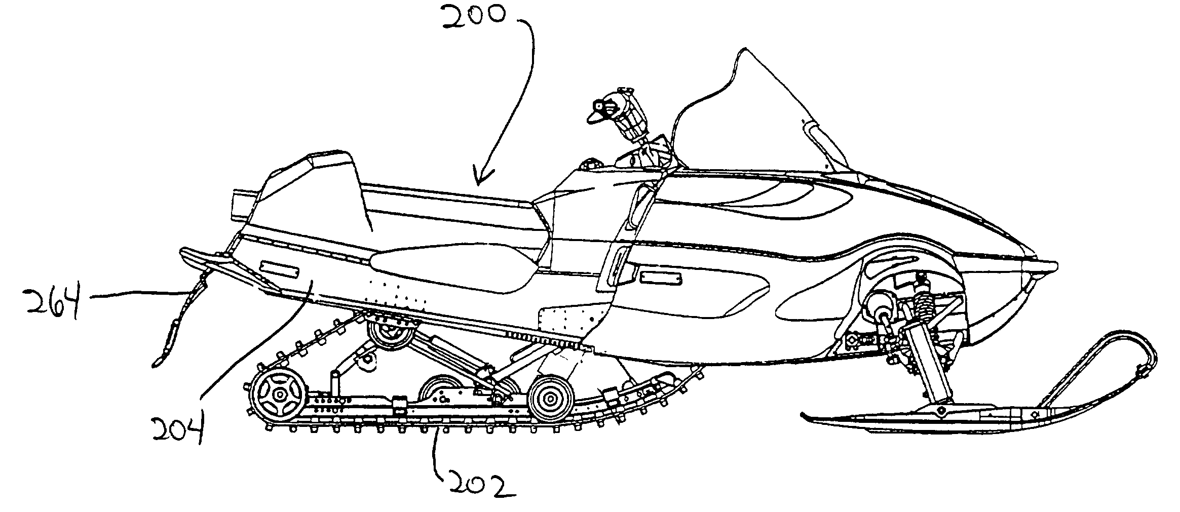snowmobile drawings Gallery