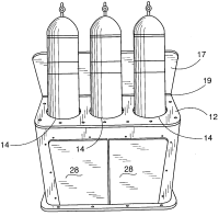 Patent US20040145282 - Assembly for on-boat SCUBA tank ...