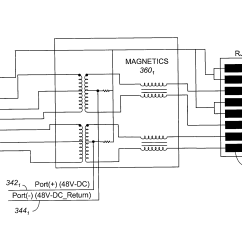 Poe Ethernet Wiring Diagram Sakura Electric Bike Patent Us20040164619 - Connector Module With Embedded Power-over-ethernet Functionality Google ...