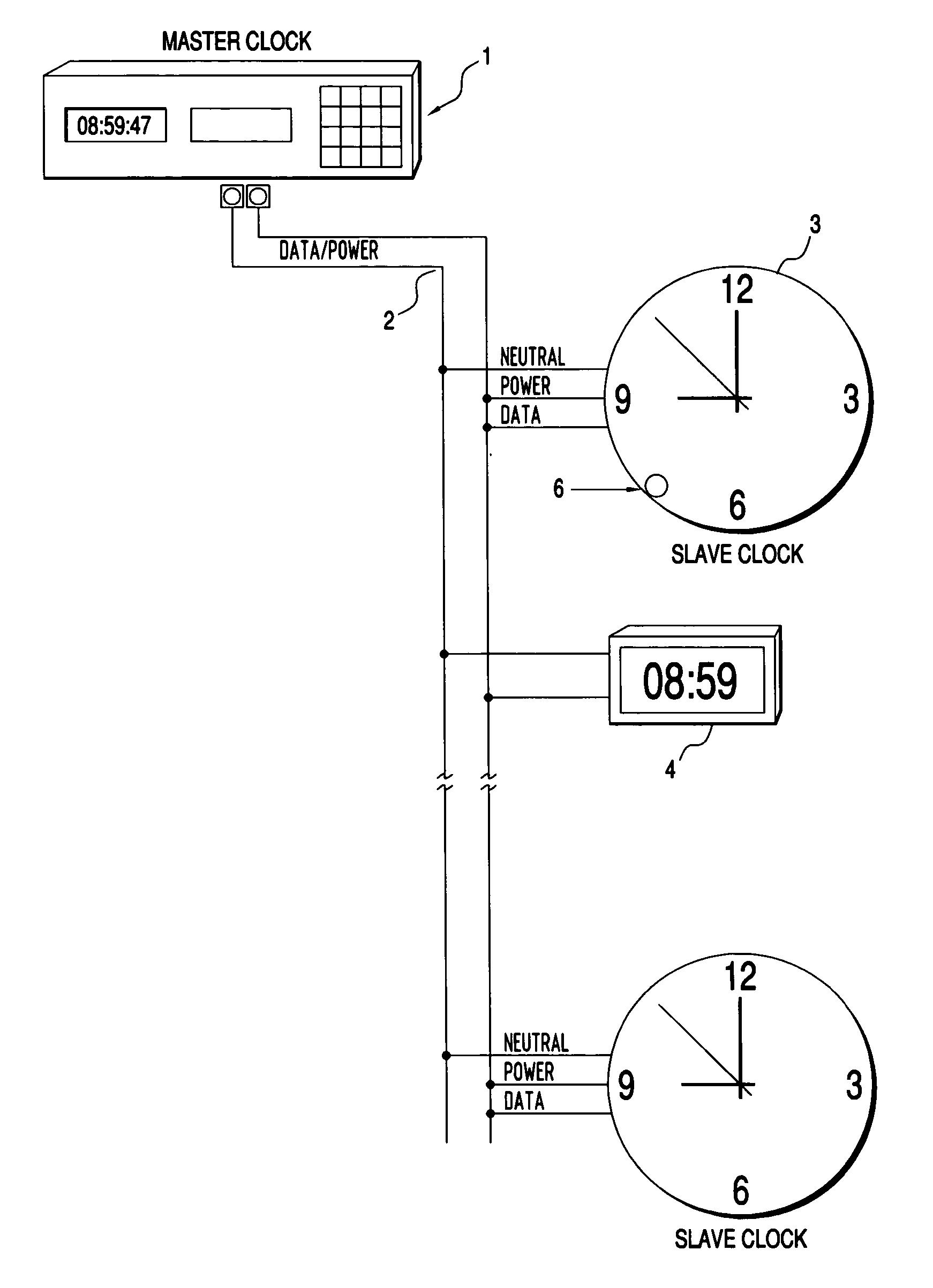 Master Clock System Wiring Diagram : 34 Wiring Diagram