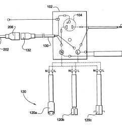 patent us20040248462 modular wiring harness and power cord for  [ 2610 x 1934 Pixel ]