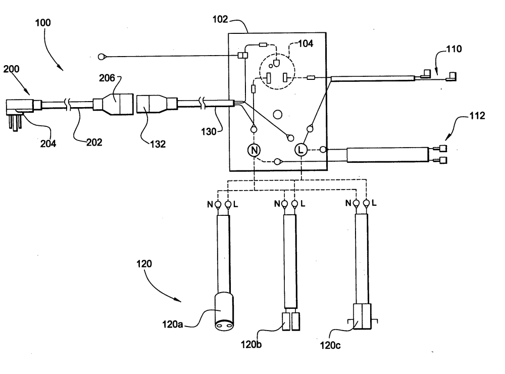 medium resolution of patent us20040248462 modular wiring harness and power cord for