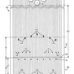 Bowling Lane Dimensions Diagram 2007 Nissan Sentra Fuse Box Patent Us20050014570 Target Guide Kit And