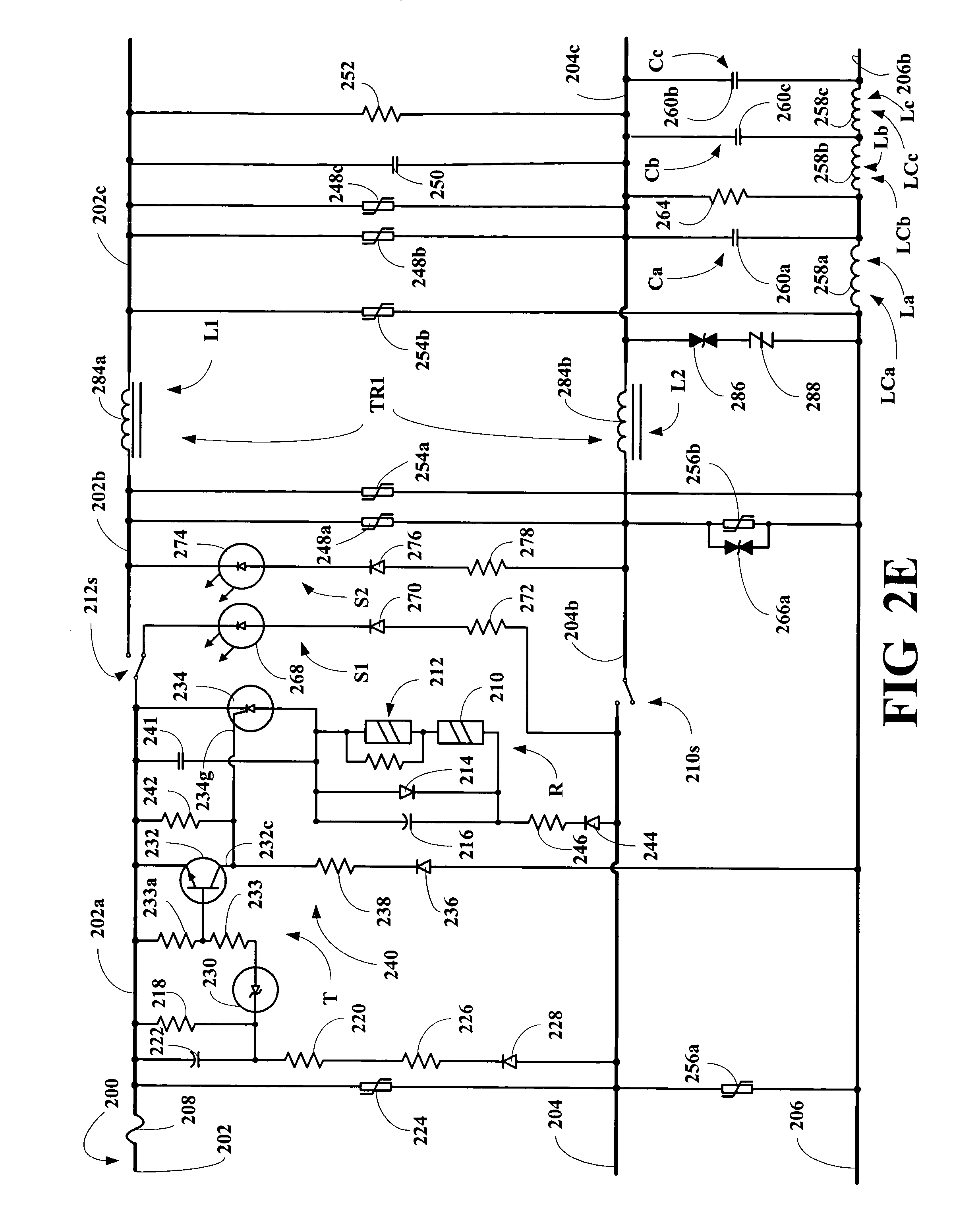 0v between hot and neutral trailer wiring diagram 4 pin round patent us20050088792 surge suppression apparatus