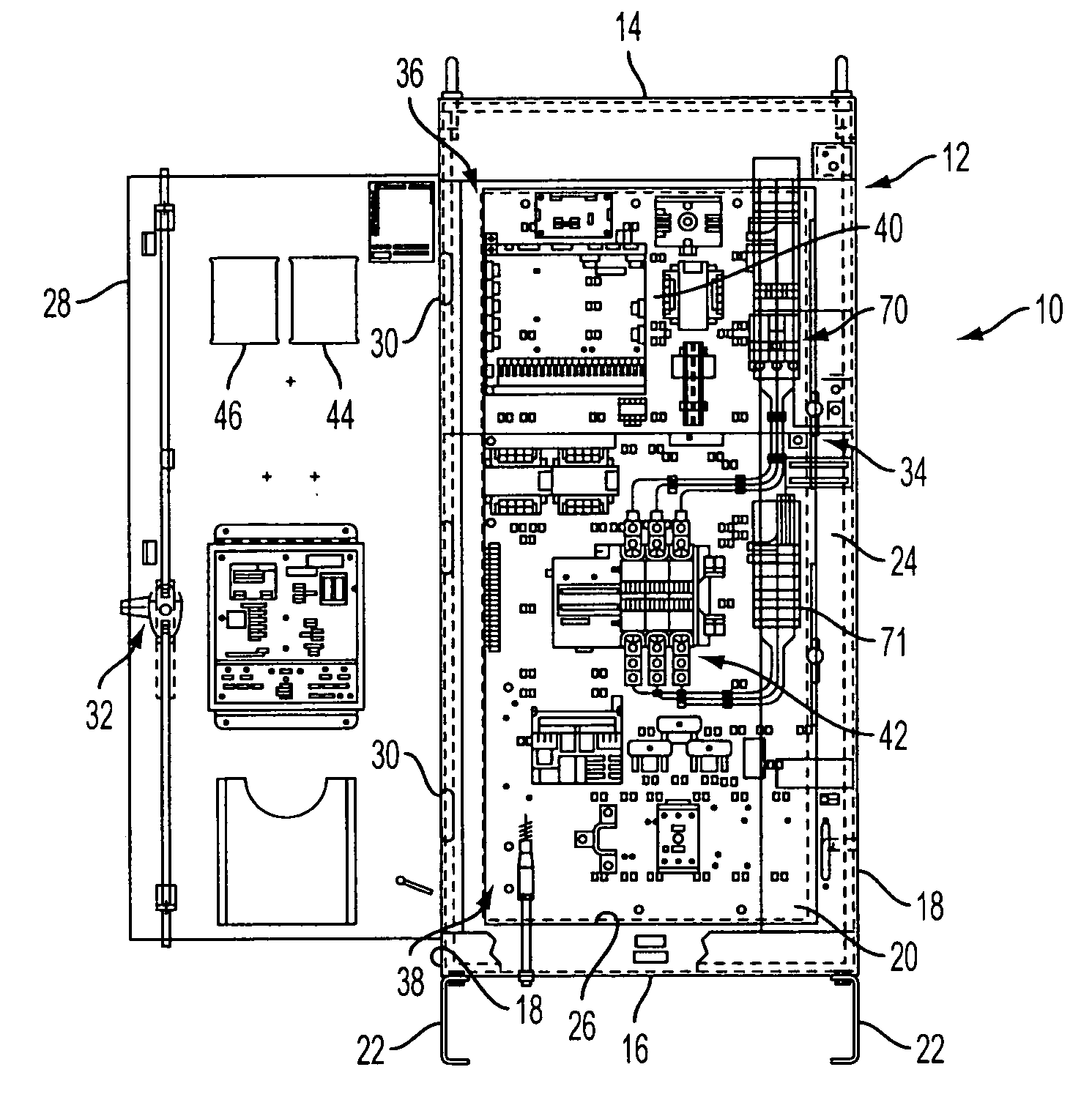 fire pump control panel wiring diagram food plate patent us20050183868 integrated controller and