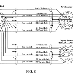 us20050289224a1 20051229 d00006 patent us20050289224 managing an audio network google patents bose link cable wiring diagram [ 2294 x 1613 Pixel ]