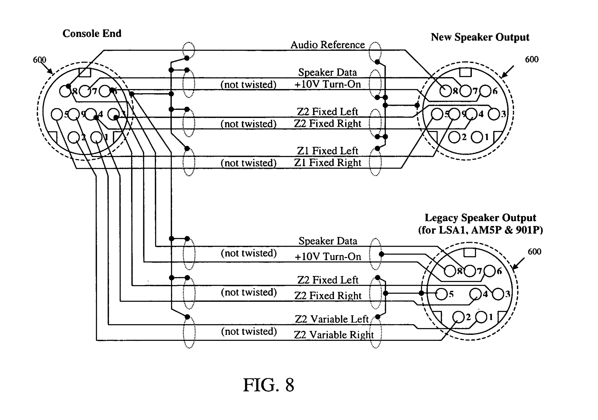 hight resolution of  us20050289224a1 20051229 d00006 patent us20050289224 managing an audio network google patents bose link cable wiring diagram