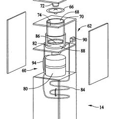 Whirlpool Conquest Ice Maker Diagram 220 Volt Switch Wiring Refrigerator Dispenser